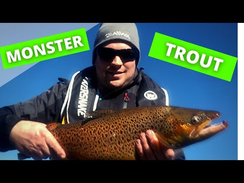 Monster Trout Fishing Tullaroop Res Victoria