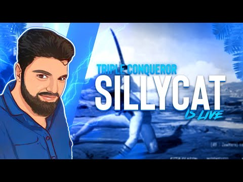 Pubg Mobile   SillyCat Is Live   Road to 29K Subs   #sillycat #pubg