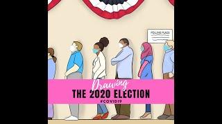 Drawing The 2020 Election #Covid19 | Sumer Strawbree 🍓