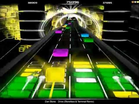 Audiosurf -DVE- Drive (Stoneface & Terminal Remix) by Dan Stone