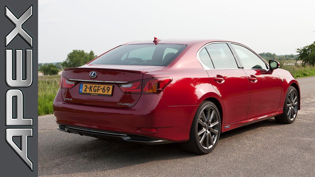 Lexus Gs 450h Hybrid F Sport Line Review English Subles