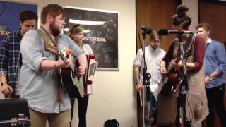 Of Monsters And Men at Universal Pictures 6/1/12