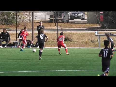 USSDA U13 Houston Dynamo Youth Academy Vs. FC Dallas Academy Highlights Jan 28 2018