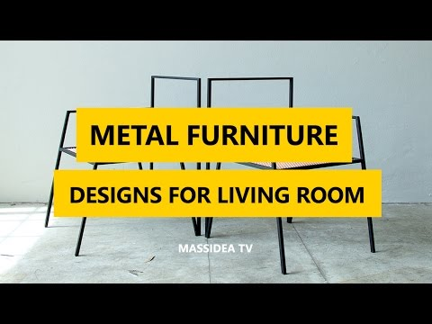 50+ Cool Stuff  Metal Furniture Designs Ideas for Living Room 2017