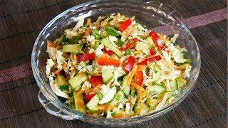 Салат из пекинской капусты с сельдереем