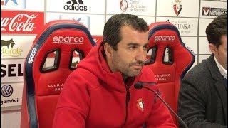 Diego Martínez. Previa Osasuna-Numancia