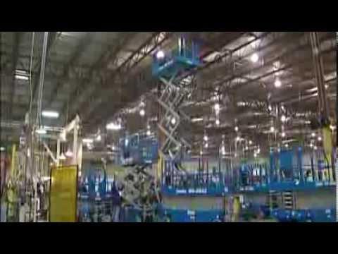 upright mx 19 electric scissor lift aerial man lift work 8 29