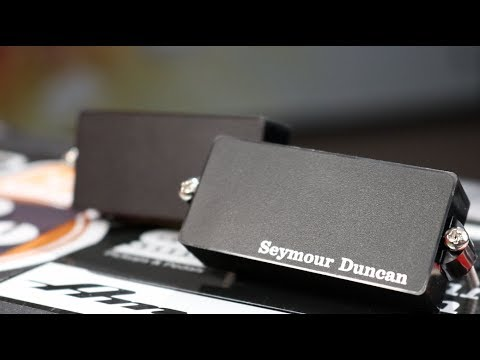 Seymour Duncan Active Precision Bass Pickup Comparison - YouTube