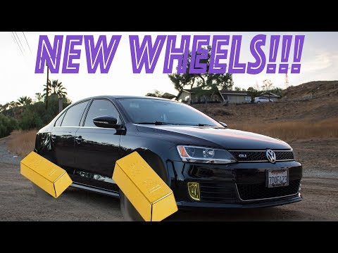 Installing New Wheels On My GLI!