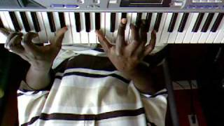 Martha Munizzi - God is Here  (Piano Tutorial) Karen Clark