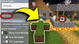 THERE IS SOMETHING WRONG WITH THIS MINECRAFT SEED!!! (Haunted Survival Series) [1]