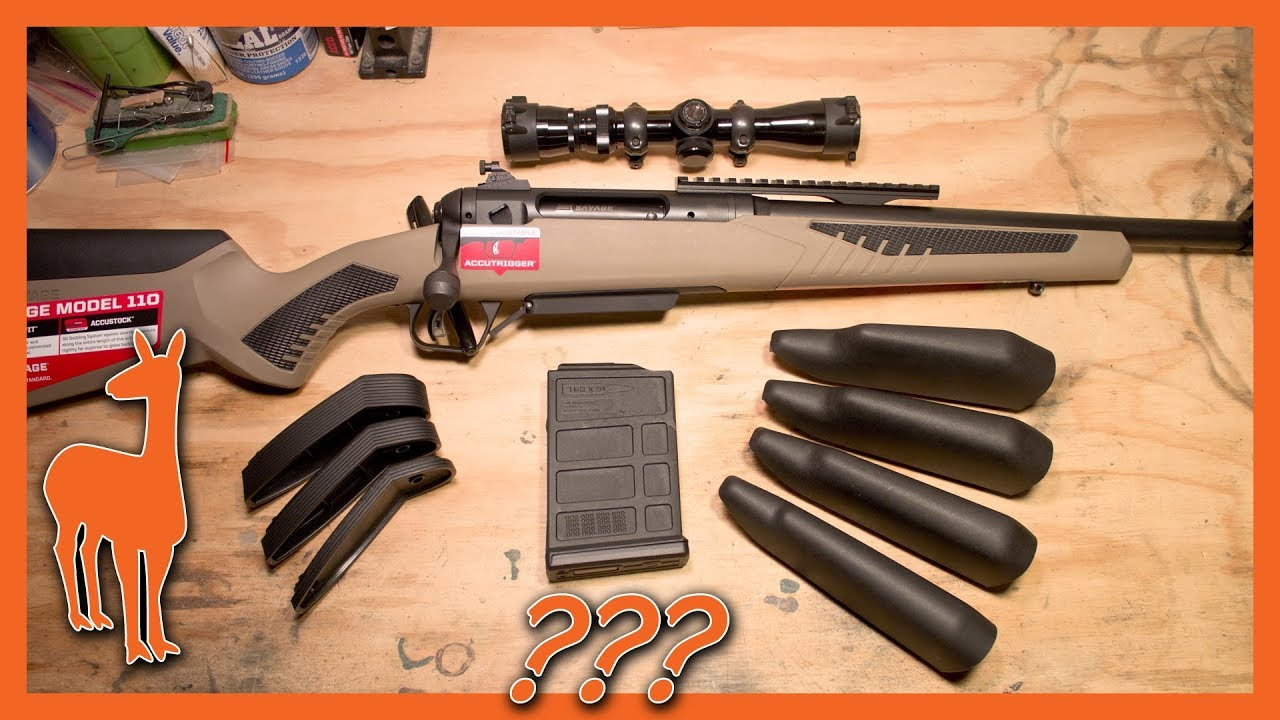 First Look: Savage 110 Scout in  308 Win - What's in the Box?