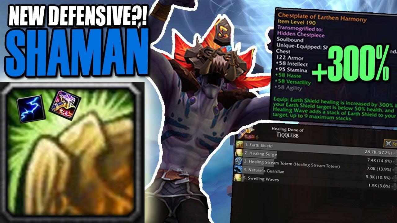 New Defensive Shaman Pvp Shadowlands Beta Youtube