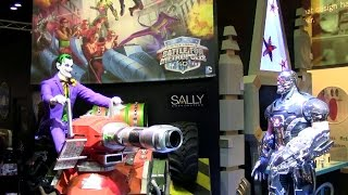 justice league six flags sally rides iaapa 2014 press event