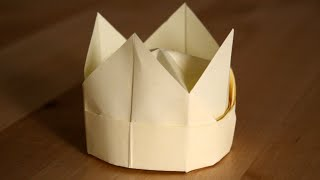 Origami - Couronne