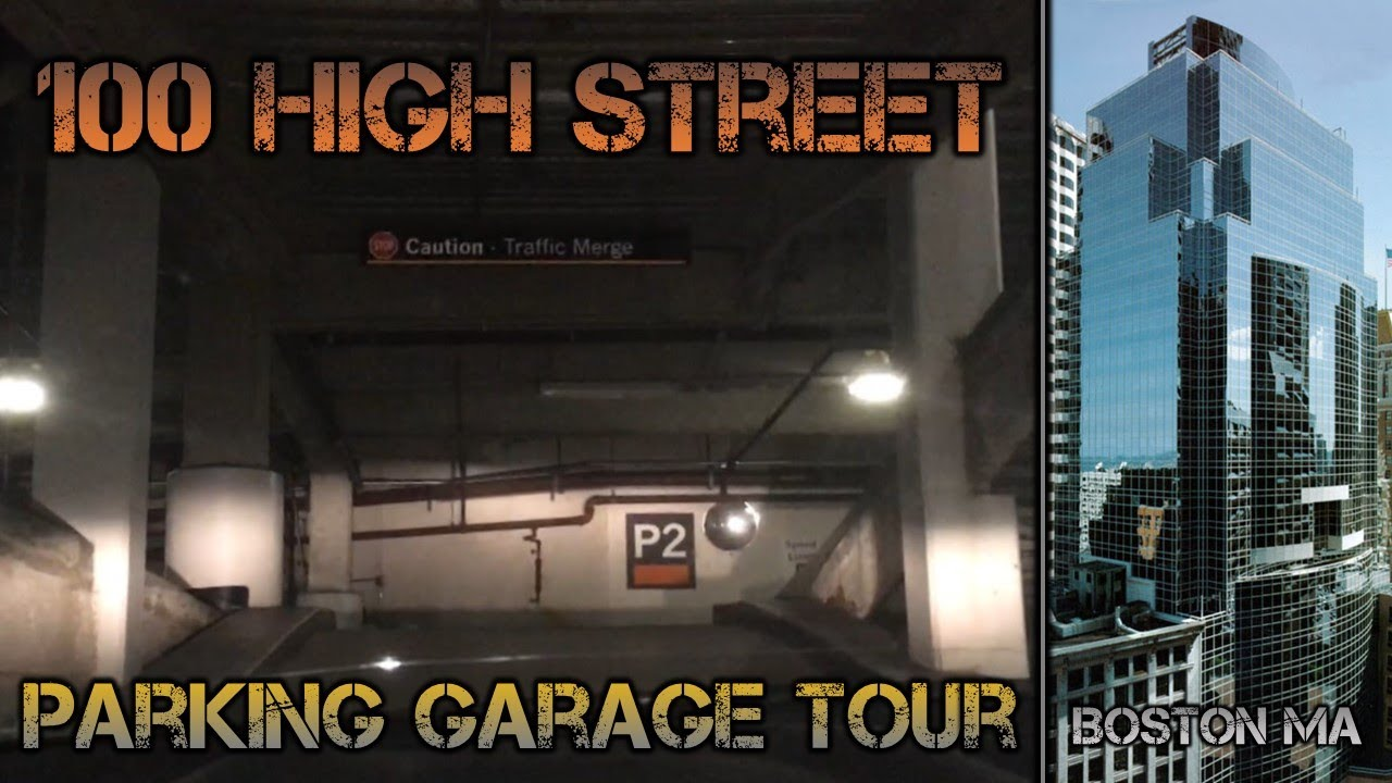 Cheapest Garage In Boston 100 High Street Garage Driving Tour With Baystateelevators At 2 Am Boston Ma