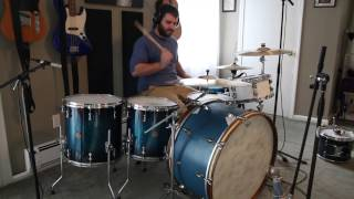 playing a 26 wfl bass drum