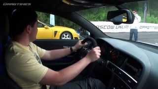 Drag Racing с Audi RS6 Sport или как ее сделали...(Смешное видео о том, как двое чуваков в Audi RS6 Sport состязались
