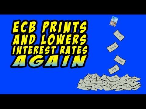 EU Falling Apart as ECB Begins Money Printing, Asset Purchases, Negative Interest Rates!