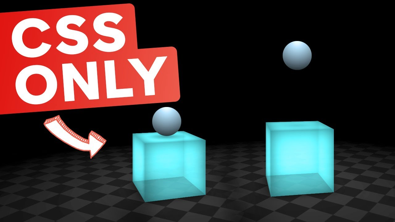 3D CSS - Lighting, animations, and More!