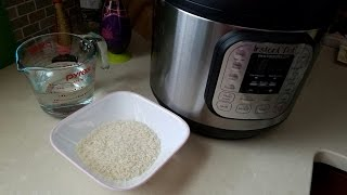 Instant Pot Pressure Cooker White Rice Recipe