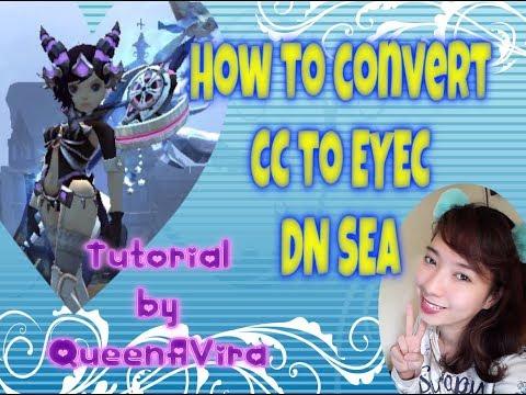 How to convert CC to EYEC DRAGON NEST SEA