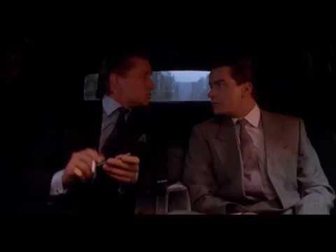 Wall Street Sprüche Von Gordon Gekko Michael Douglas In Der Limousine