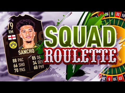THE BIGGEST DISCARD ON FIFA 19!!! INFORM JADON SANCHO SQUAD ROULETTE!!!