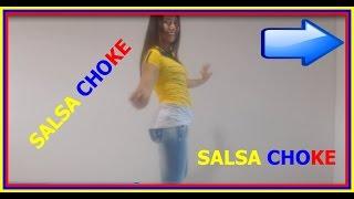 Aprender a bailar Salsa Choke - Paso base - Desplazamientos