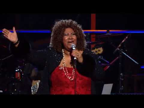 "Aretha Franklin Performs ""Don't Play That Song (You Lied)"" at the 25th Anniversary Concert"