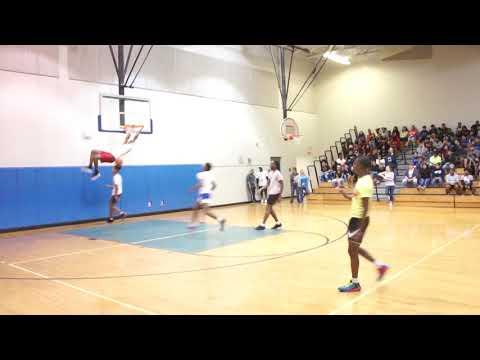 Lincoln Memorial Academy pep rally celebration basketball.