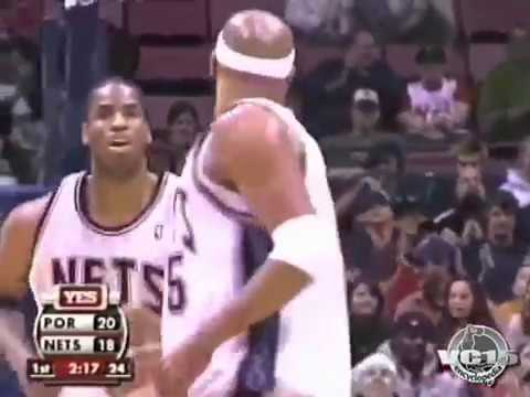 VC NICE follow slam vs Blazers 2006 season