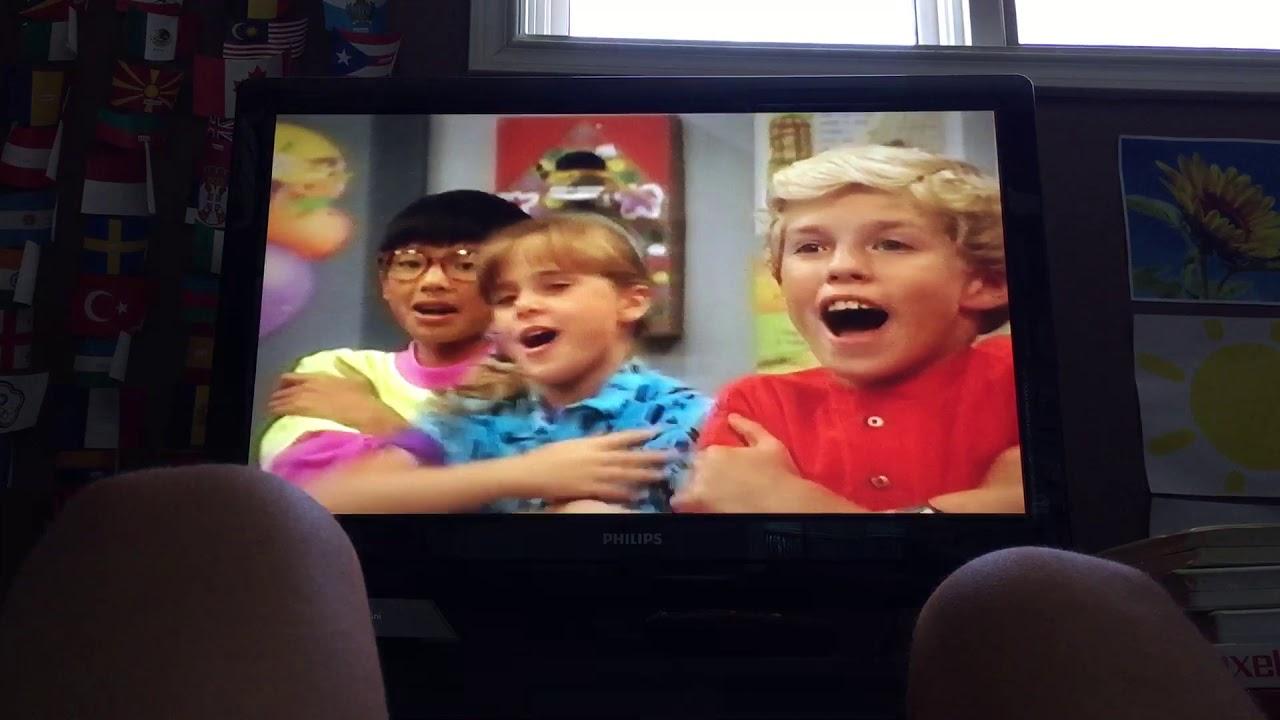 Barney & the Backyard Gang Barney Goes to School 1996 VHS ...