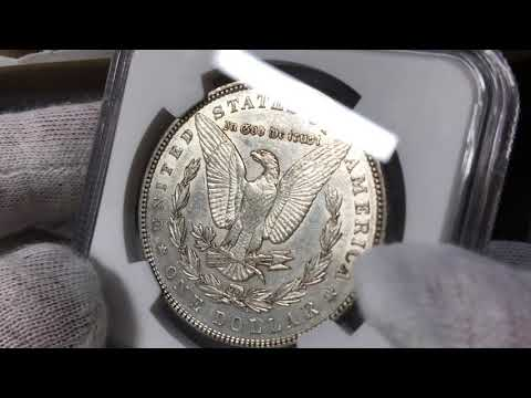 NGC Grades Revealed WHERE IS MY STAR Morgan Silver Dollars 1895 O Open Box