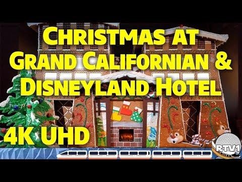 Christmas At Disney's Grand Californian Resort & The Disneyland Hotel 2019