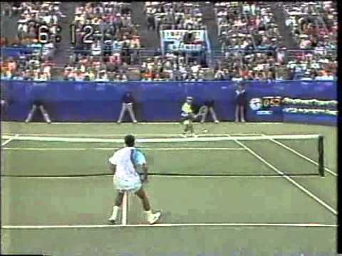 1990 U.S. Open Agassi vs Sampras