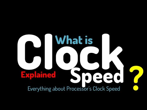 What is Clock Rate | Clock Speed in Smartphones | Explained | Hindi