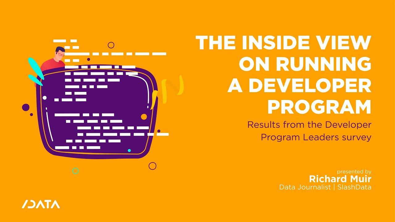 The inside view on running a Developer Program