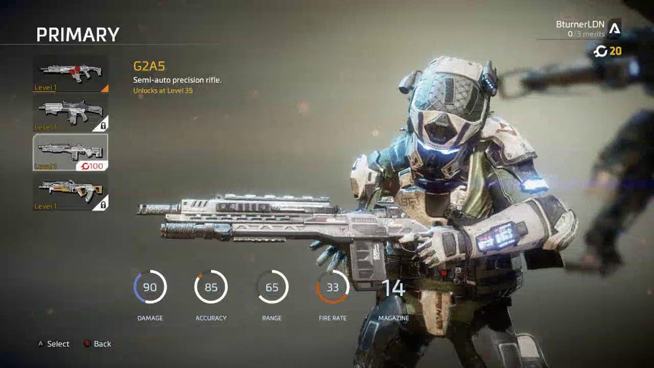 TITANFALL 2 G2A5 GUN REVIEW! BEST GUN IN THE GAME!! - YouTube