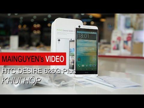 Khui hộp HTC Desire 626G Plus - www.mainguyen.vn
