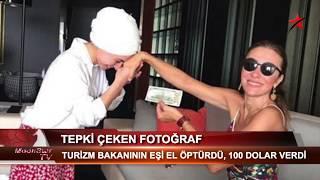 TURİZM BAKANININ EŞİNDEN TEPKİ ÇEKEN FOTOĞRAF