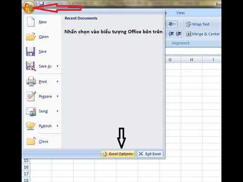 Cách làm hiện thanh cuộn trên Excel