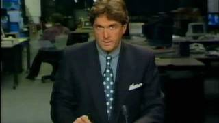 Nederland 2 - STER + NOS Journaal + closedown (18 november 1991)