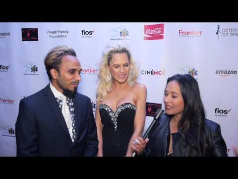 Cinémoi's Oscars After Party Interview w/ Reggie Benjamin & Iwona Burnat