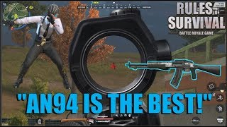 ''AN94 IS THE BEST!'' Duo game with bro Jazon Gaming (ROS BISAYA)