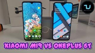 Xiaomi Mi9 vs OnePlus 6T Camera comparison/Screen/Size/Sound Speakers/Design! Review