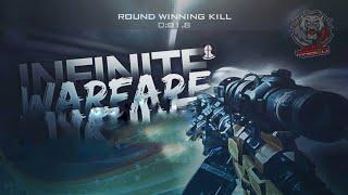 call of duty 4 - modern warfare 1 - multiplayer online game play - best shots - map crash snow.