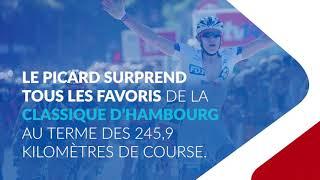 Le 19 août 2012, Arnaud Démare remporte la Classique d'Hambourg