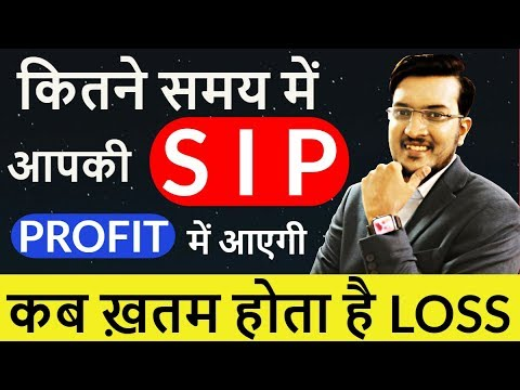 कितने समय में आपकी Mutual Funds SIP Profit में आएगी ? Biggest Research on Mutual Funds in india 2019