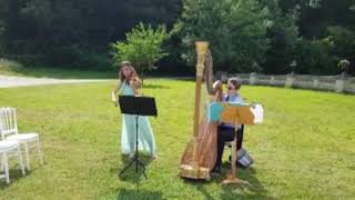 Thais Meditation Violin Harp LIVE Euterpe Paris